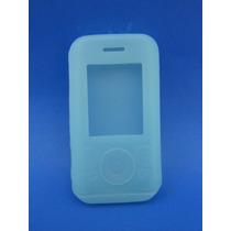 Silicon Skin Case Para Sony Ericsson W580 Color Azul