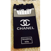Funda Cigarrera Chanel Iphone 4, Iphone 5, Iphone 6 Y Plus