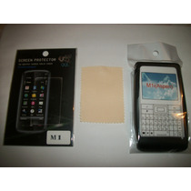 Kit 3x1 Silicon+ Mica+ Paño Sony E Aspen M1!!!