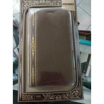 Funda Book Libro Antiguo Galaxy S5 Piel