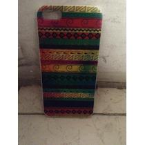 Carcaza Con Diseño De Grecas Muy Colorida Iphone 5 O 5s