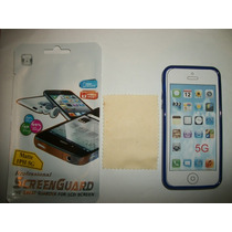 Kit 3x1 Tpu+ Mica Matte+ Paño Iphone 5s!!!