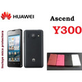 Funda Vinipiel Huawei Ascend Y300 + Mica Protectora Pantalla