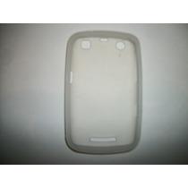 Protector Silicon Case Blackberry Curve 9360 Color Blanco!