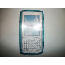 Protector Tpu Nokia Asha 303 Color Azul!!!