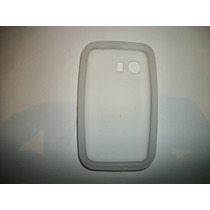 Protector Silicon Case Galaxy Young S5360 Color Blanco!