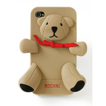 Funda Iphone 5s 5c 6 Oso Moschino Teddy Case Silicon Skin