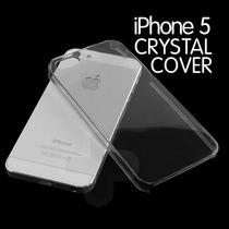 Funda Protector Crystal Case Transparente Iphone 5 5s Nuevo