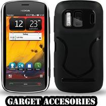 Nokia Pureview 808 Hard Case. Stylus Y Mica Gratis Anticaida