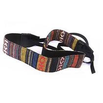 Correa Hippie Vintage Cinturon Para Camara Reflex
