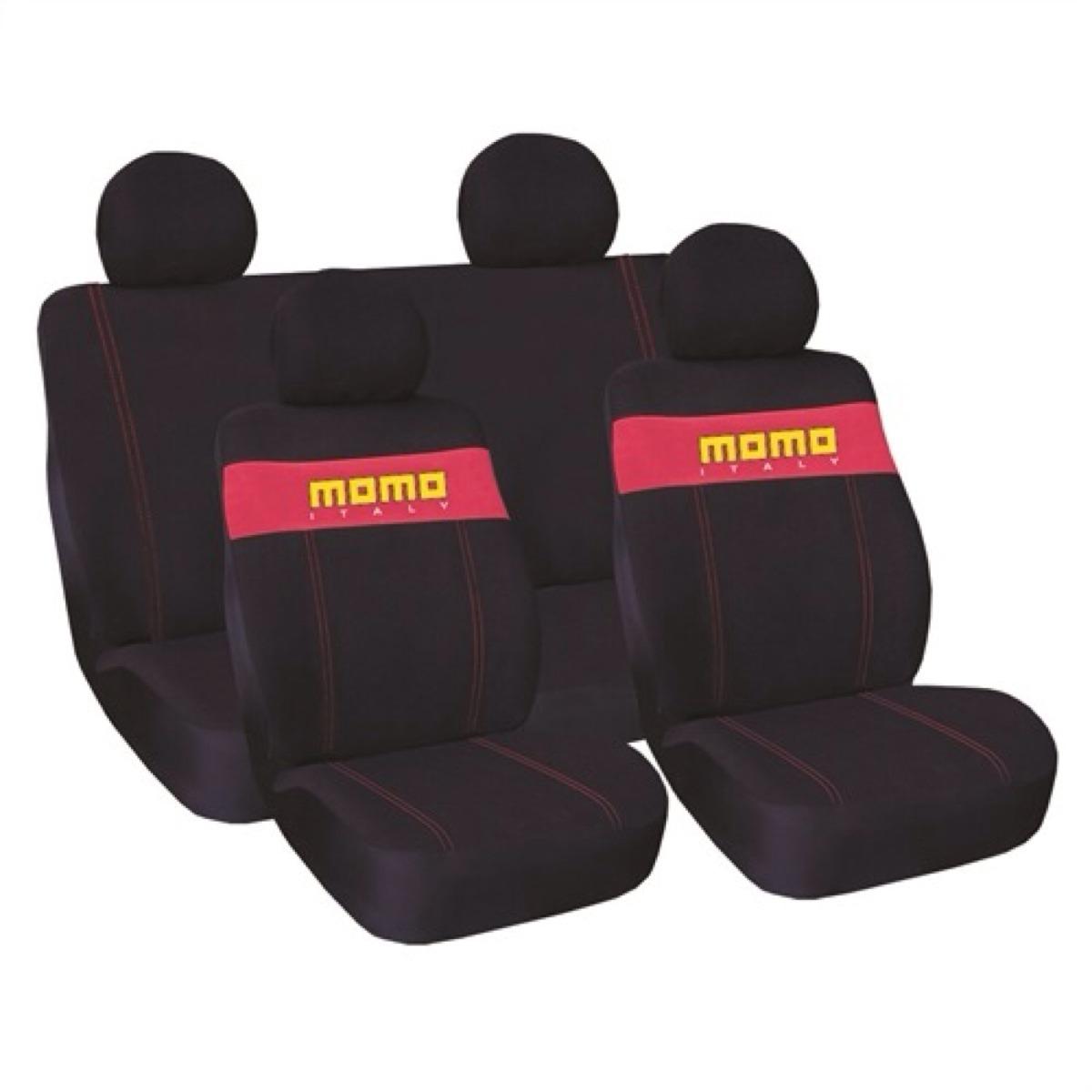 Fundas momo de piel para asiento de auto universales color for Asiento para bebe auto