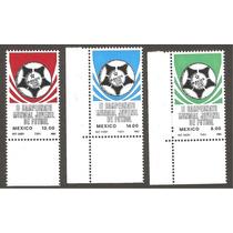 Estampillas Mexico Mundial Juvenil Futbol 1983
