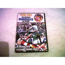 Los Mejores Mundiales De Futbol Dvd Resumen ,goles,1970 A 19