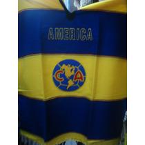 America Aguilas Jorongo 100% Mexicano Bordado