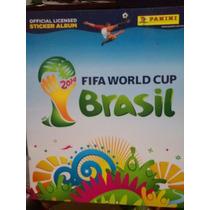 Estampas Album Panini Fifa World Cup Brasil 2014