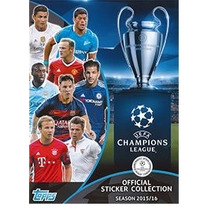 Album Completo Champions League 2015/16 Topps
