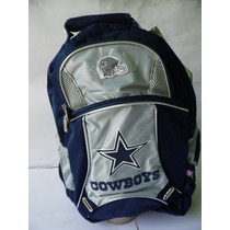 Mochila Nfl 100% Original Cowboys Vaqueros De Dallas