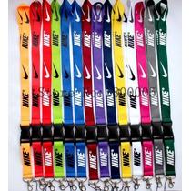 Llavero / Porta Gaffete / Lanyard Nike Lote De 32 Piezas