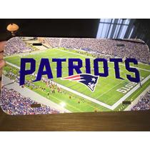 New England Patriots Nfl Placa Auto