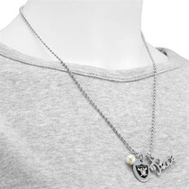 Oakland Raiders - Peace & Pearl Collar Con Logo