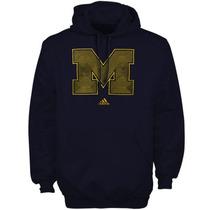 Michigan Wolverines Ncaa Sudadera Adidas Stitch
