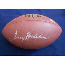 Balon Autografiado Terry Bradshaw Pittsburgh Steelers Nfl