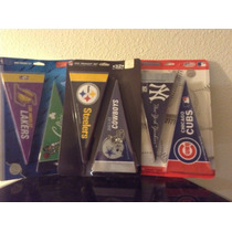 Banderines Mini De Nfl, Mlb Y De La Nba
