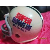 Super Bowl # 03 Nfl New York Jets Casco Cromado