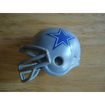 Mini Casco Vaqueros De Dallas Mide 6 Cms