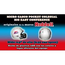 Micro Casco Pocket Colegial Big East Conference Maa