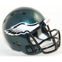 Casco Nfl Pocket Revolution Y Banderin Nfl Eagles