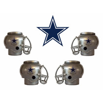 Casco Nfl Dallas Cowboys Vaqueros Combo 4 Cascos Cerveceros