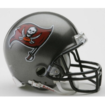 Mni Casco Nfl Tampa Bay Bucaneros Mini Helmet 5 Pulgadas