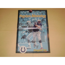 Poster Peyton Manning Potros De Indianapolis 2000