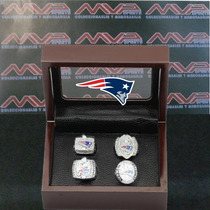 Nfl New England Patriots Super Bowl Set Anillos De Campeon