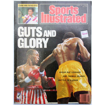 Sports Ilustred Ray Leonard Thomas Hearns Walter Hagen 1989