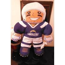 Peluche San Diego Chargers Nfl Rush Zone Football Sports