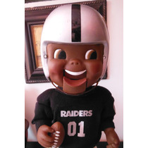 Muñeco Los Angeles Raiders Retro Edicion Limitada Musical