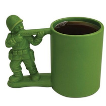 Taza De Soldadito Ceramica Tipo Soldado Toy Story