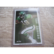 1990´s Promo Mini Poster Keyshawn Johnson Jet Engine