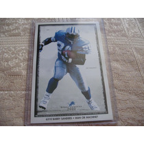 1990´s Costacos Mini Poster Barry Sanders Man Or Machine