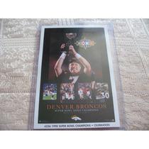 1990´s Promo Mini Poster 98 Super Bowl Champions Denver