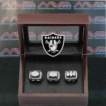 Nfl Oakland Raiders Super Bowl Set Anillos De Campeonato