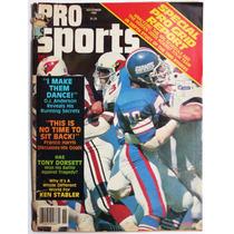 Pro Sports Nfl Futbol Americano Harris Dorsett Stabler 1980