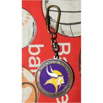 Nfl Llavero Tipo Medalla Vintage Minnesota Vikings Vikingos
