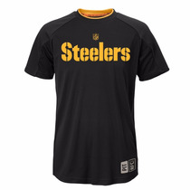 Nfl Pittsburgh Steelers Camisa Talla S Dry Tek Youth Acerero