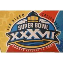 Cojin Butaca Super Bowl Xxxvii 37 Futbol Americano Nfl 2003
