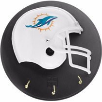 Casco Nfl Porta Llaves Delfines De Miami Football Nfl27