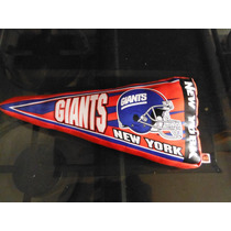 Peluche Banderin New York Giants Nfl Football