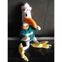 Peluche Sebastian The Ibis Miami Hurricane Football Mascot